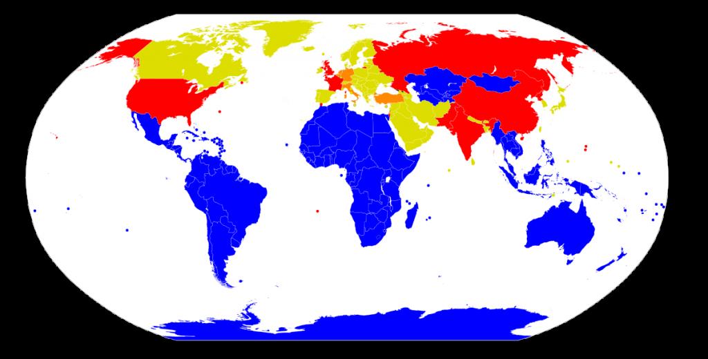 Atomwaffenfreie Zone. Bild: Wikipedia/CC 3.0