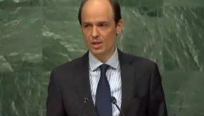 Alexander Marschik, Vizeminister für Politische Fragen, Österreich. Foto: UN