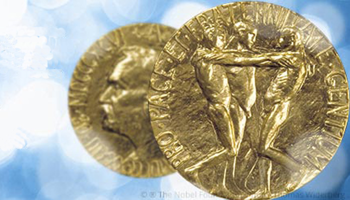 Nobelpreis. Bild: © Nobelstiftung