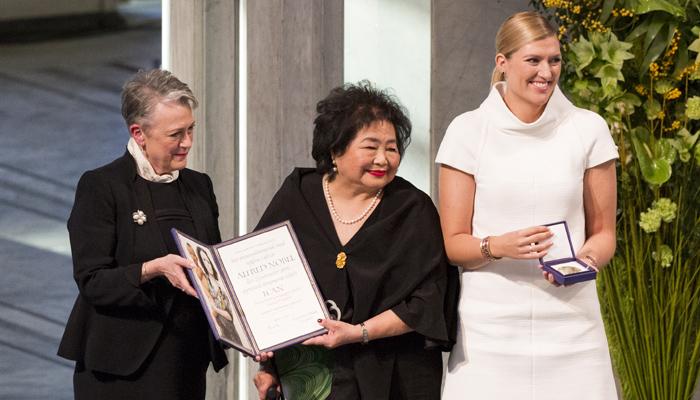 Friedensnobelpreis-Zeremonie, 10. Dezember 2017, Foto: Jo Straube/ICAN