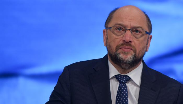 Martin Schulz auf dem SPD Bundesparteitag Berlin, 2015. Bild: ©Olaf Kosinsky / Skillshare.eu