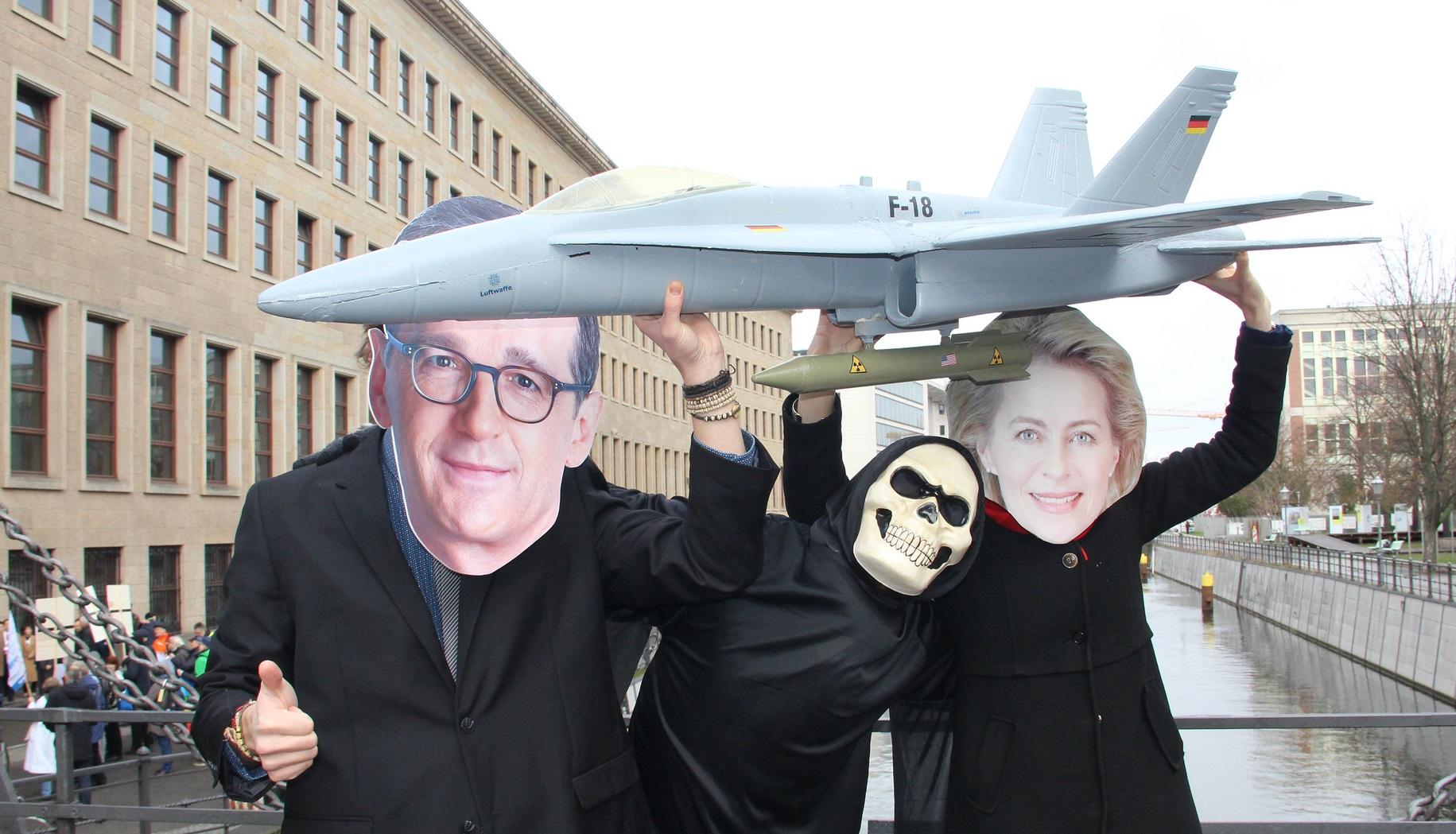 Kein deutscher Beitrag zu nuklearen Rüstungswettläufen!